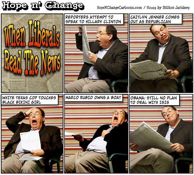 obama, obama jokes, political, humor, cartoon, conservative, hope n' change, hope and change, stilton jarlsberg, rubio, boat, bikini, pool, cop