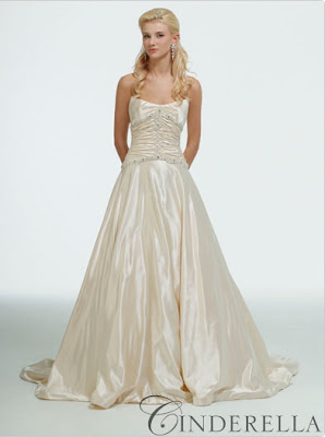 Strapless Wedding Gowns