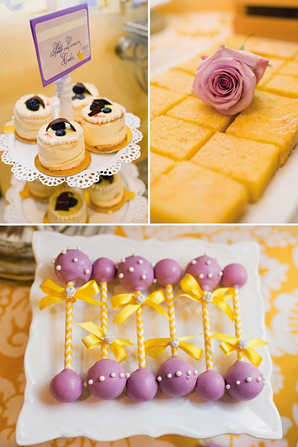 Lemon & Lavender Baby Shower