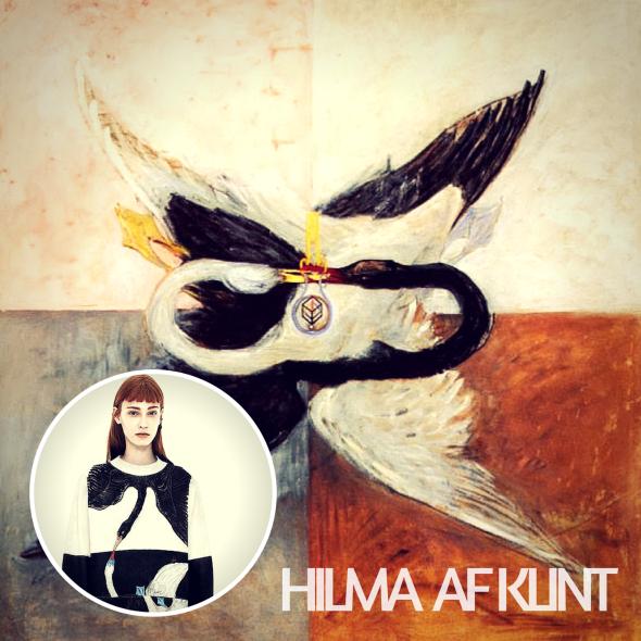 Hilma af Klint la primera pintora abstracta