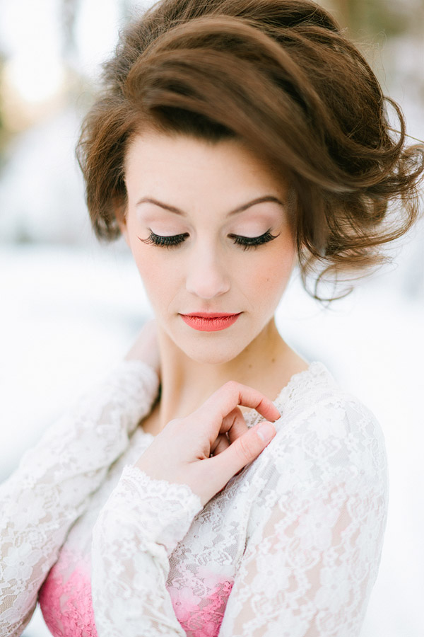 Doing Your Own Wedding Makeup Tips : Hair and Make-up by Steph: Tips for Doing Makeup for ...
