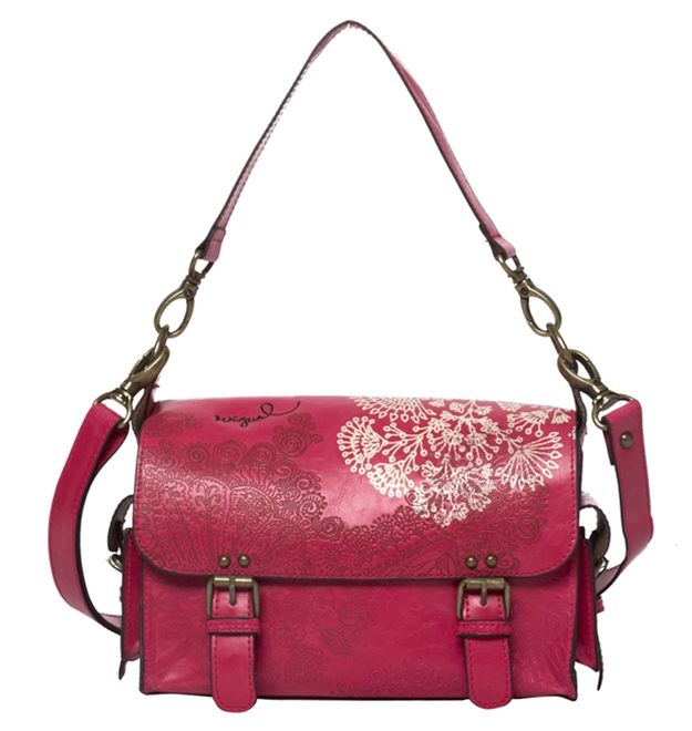 bolso fucsia