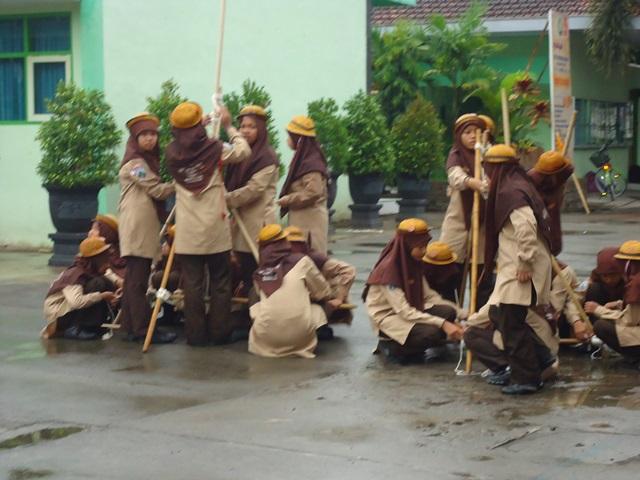 Wajah Narsis Pramuka MTsN Kunir | DOC MASTER SENI