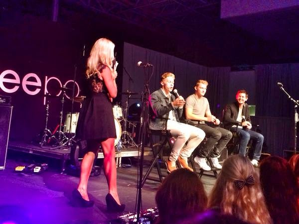 From @kaitlynvincie Twitter Feed-  On stage w/@dylankracing @SageKaram @KyleLarsonRacin for @CGRTeams #SoundGarage.
