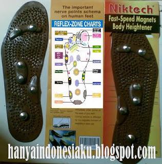 sandal peninggi badan Nicktech