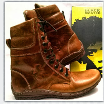 Boot Chavin Black Master