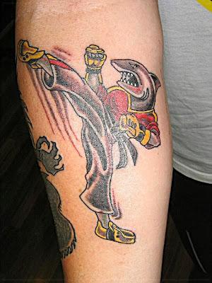 Tatuagem de Artes Marciais - Karate