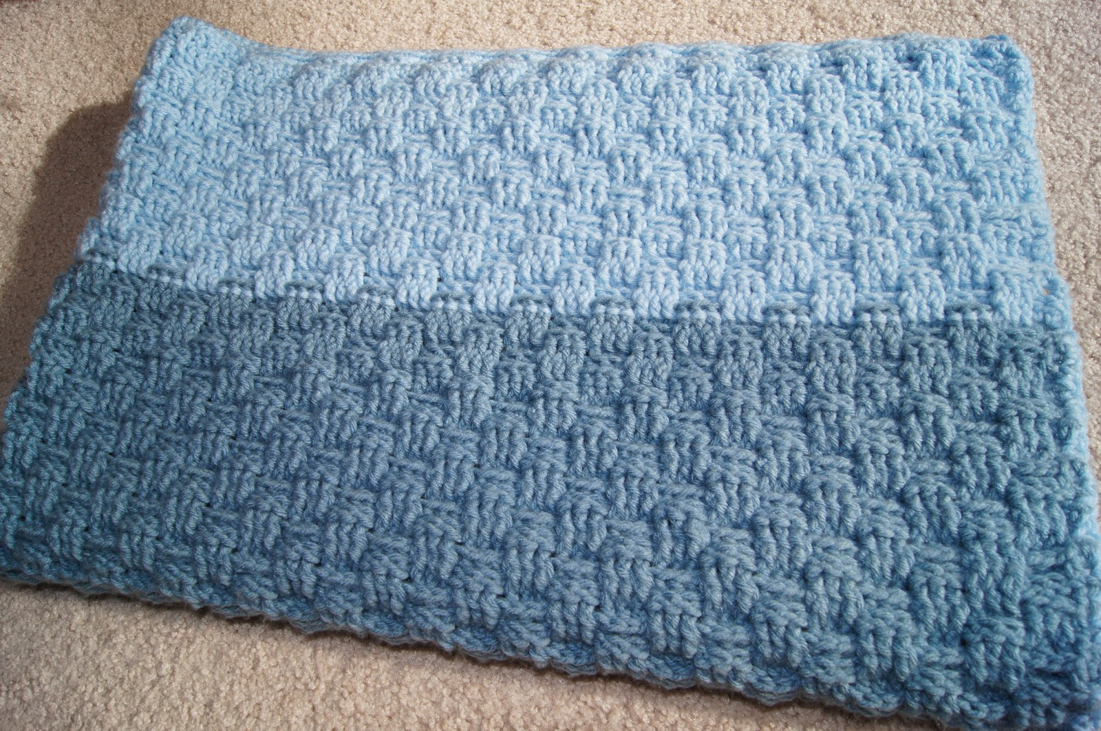 How to crochet a basket weave baby blanket : All about crochet basketweave baby blanket