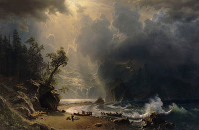 Albert Bierstadt: Puget Sound on the Pacific Coast (1870)