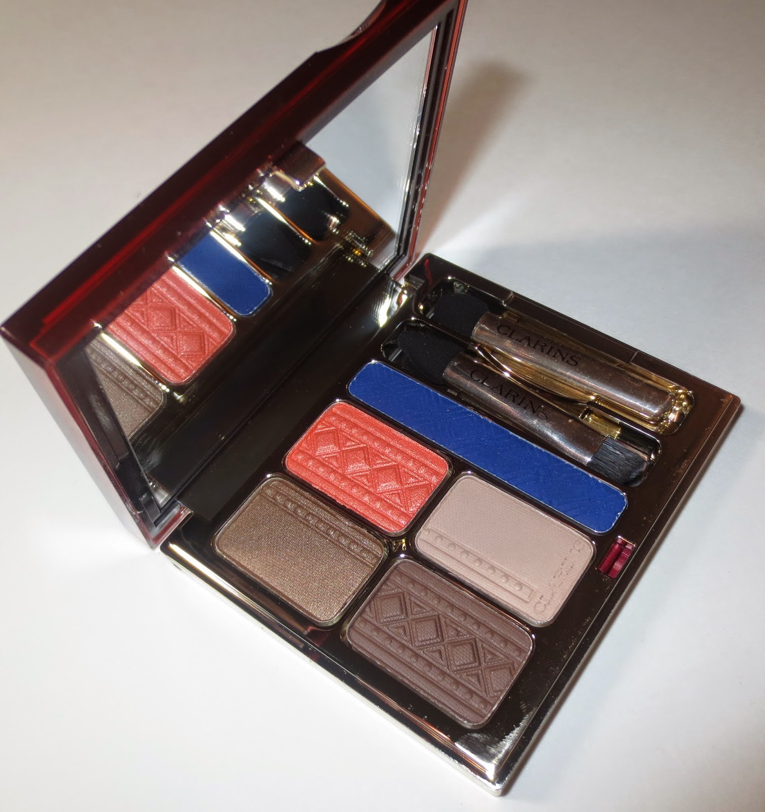 Clarins Colours of Brazil Eye Quartet & Liner Palette