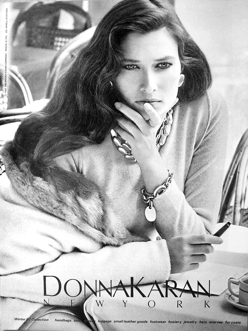 Donna Karan Fall/Winter 1987 campaign,