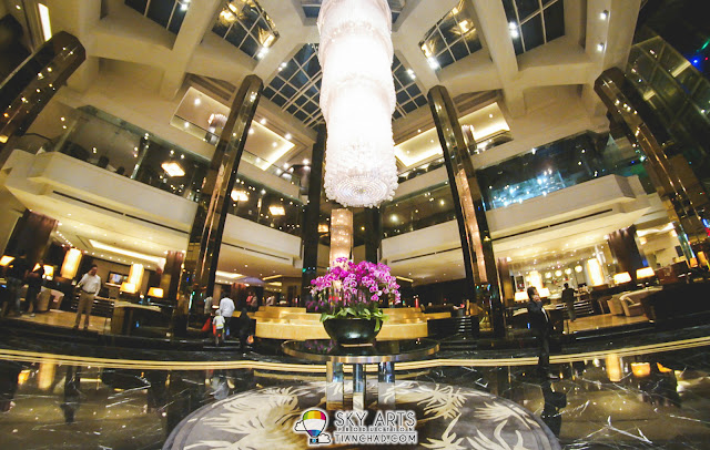My favourite part of Grand Millennium KL - The lobby