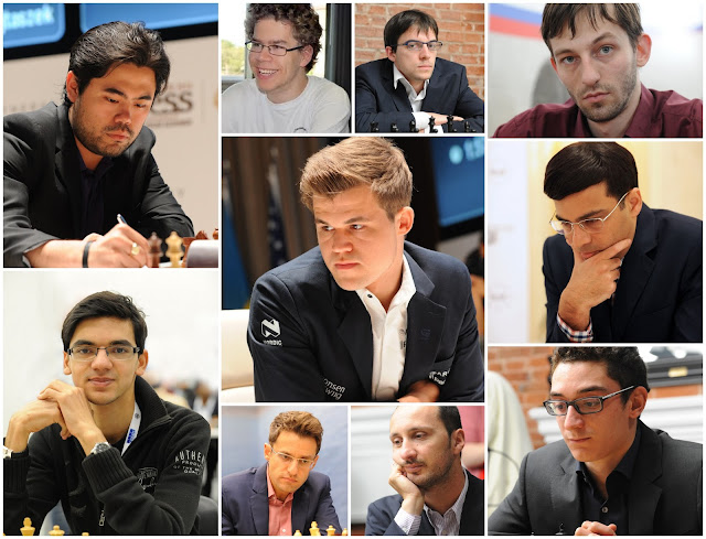 Participantes del Norway Chess 2015
