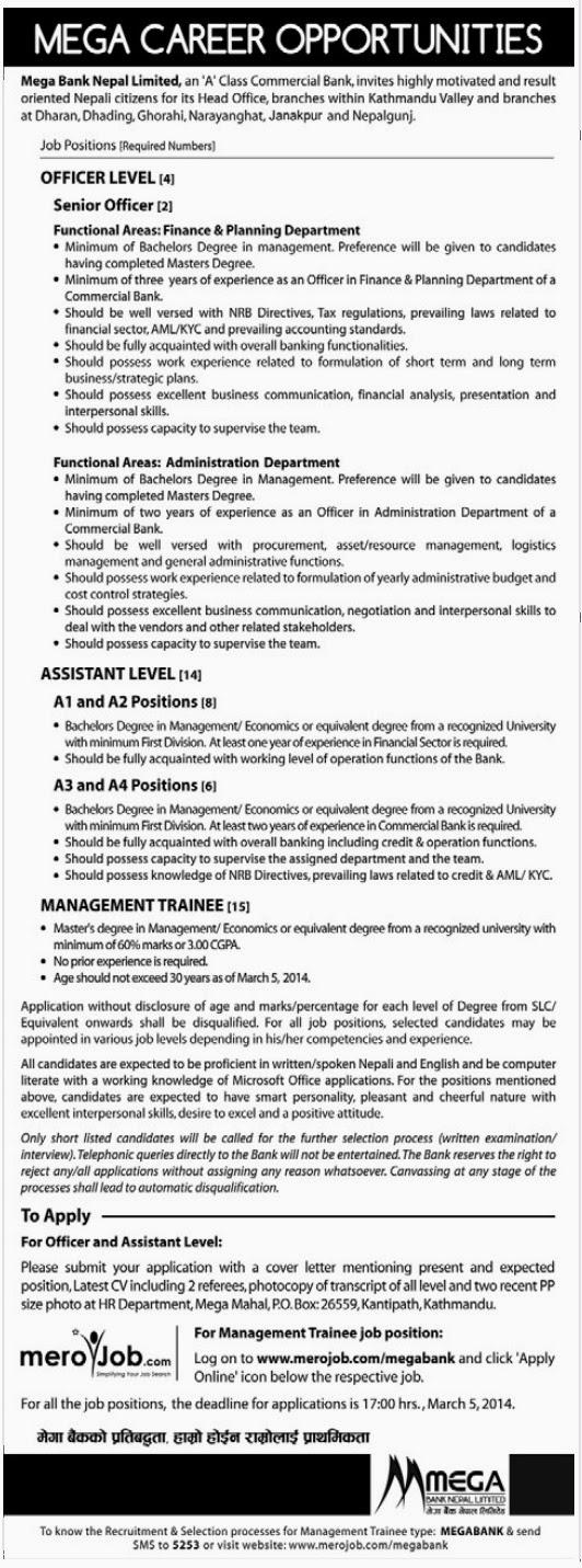 Job Applications Online