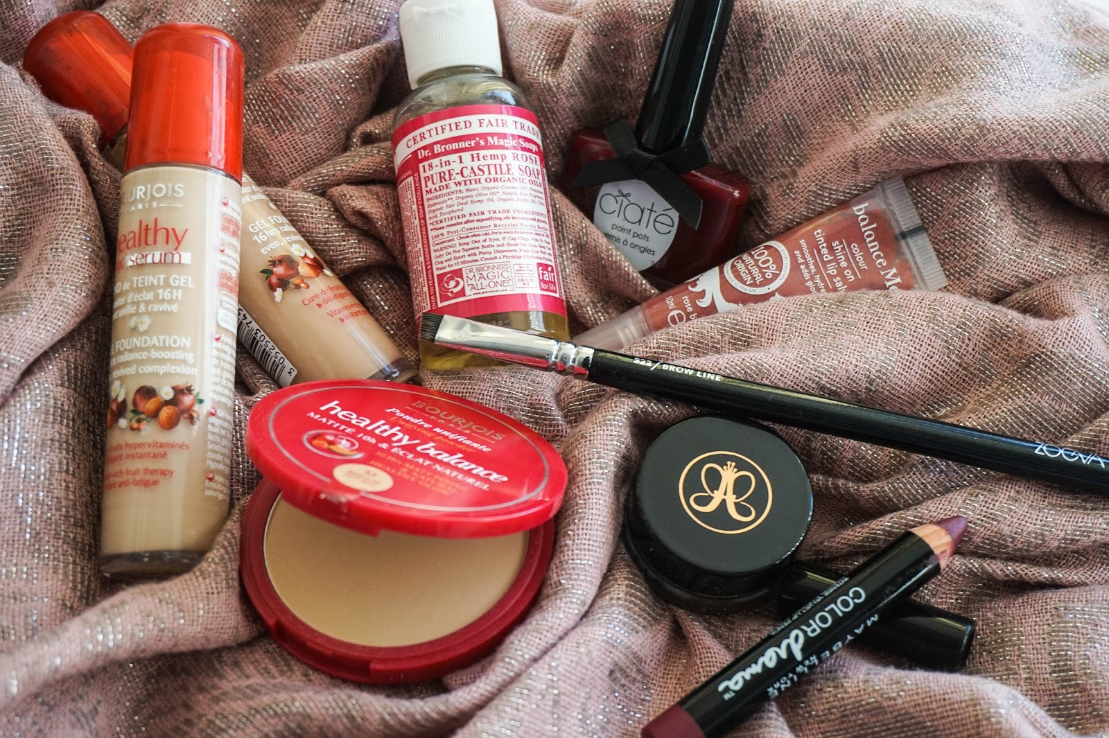 October Favourites: Bourjois, Balance Me, Maybelline, Anastasia Beverly Hills, Zoeva, Ciate, Dr. Bronner Magic Soap