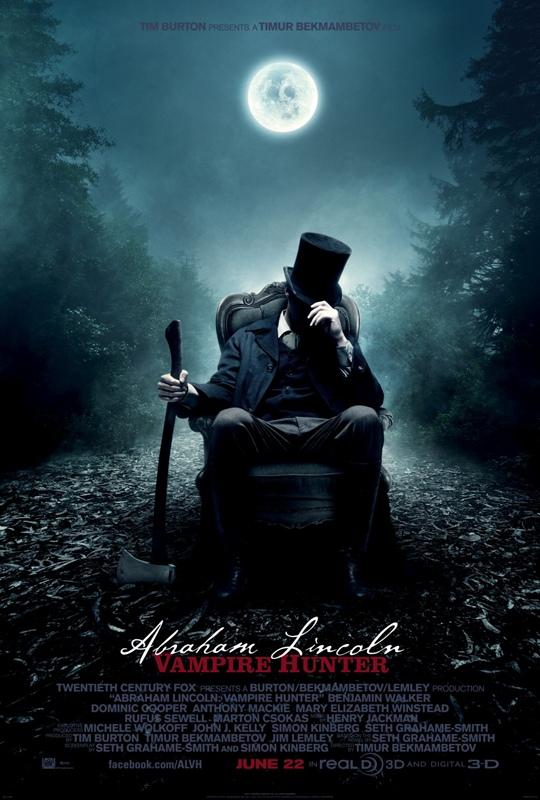 ตัวอย่างหนังใหม่ : Abraham Lincoln : Vampire Hunter (ประธานาธิบดี ลินคอร์น นักล่าแวมไพร์) ซับไทย