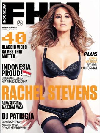 Download Majalah FHM Indonesia Edisi Agustus 2014 Cover Rachel Stevens. aura Seksinya Tak kenal Masa | www.insight-zone.com