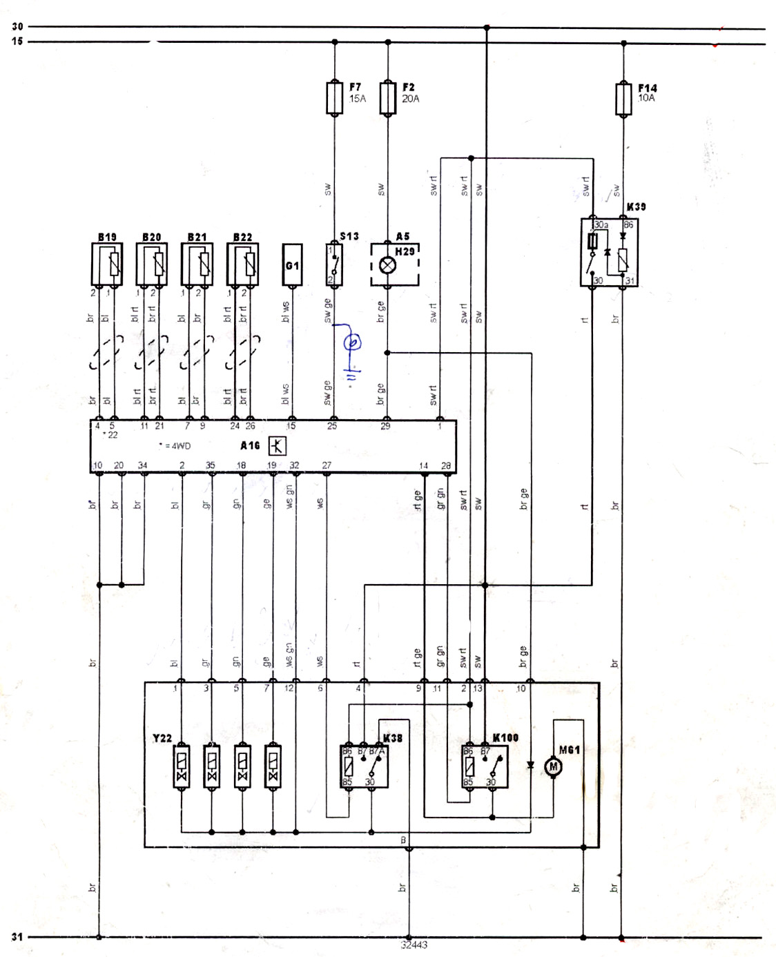 Locate the wiring diagram for your demonstrator vehicle. Find the ABS wheel  speed sensor pin out connections to the ECU on the wiring diagram and the  ...