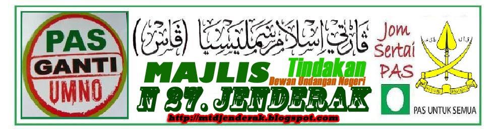 Majlis Tindakan DUN, N28 JENDERAK, Pahang Darul Makmur.