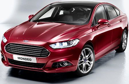 New 2013 Ford Mondeo official Photos