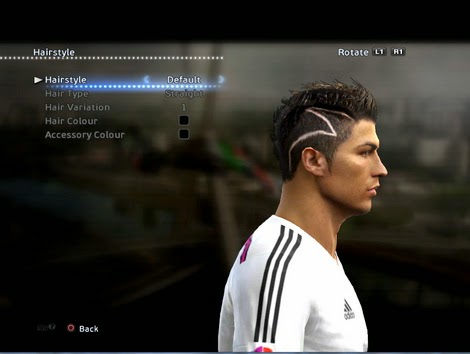 PES 2013 Cristiano Ronaldo New Hair by Momen Ala
