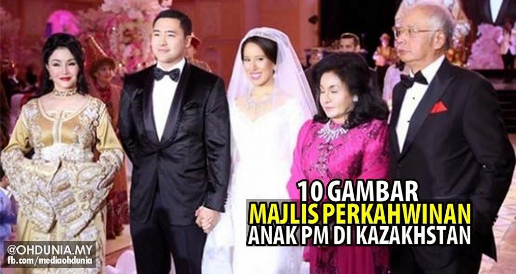 Gambar-gambar majlis perkahwinan anak PM di Kazakhstan (10 Foto)