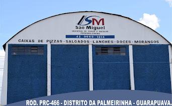 No Distrito da Palmeirinha tem a Indústria de Caixas São Miguel.