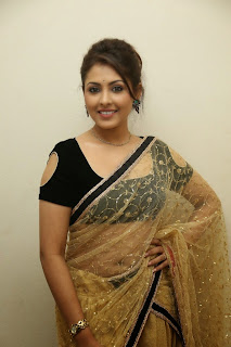 Actress Madhu Shalini Latest Pictures in Saree at Seethavalokanam Press Meet  010.jpg