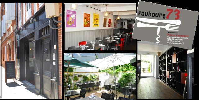 image Restaurant Faubourg 73 à Montauban
