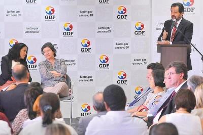 GDF lança campanha e conta com apoio da população