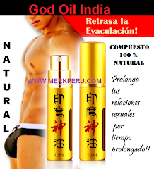 God Oil India, spray