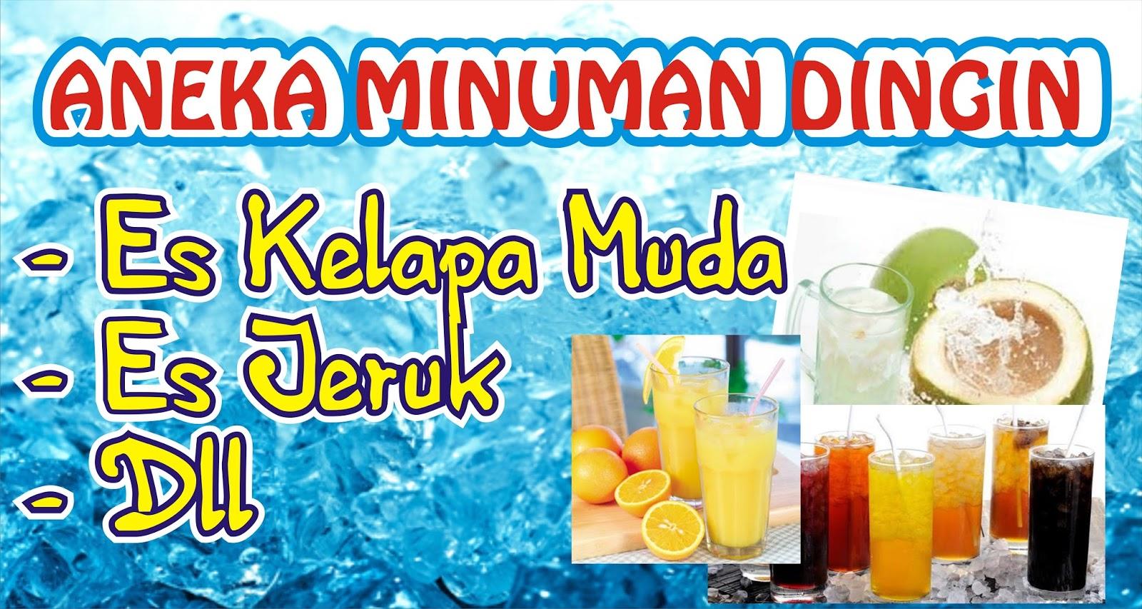 Download Spanduk Aneka Minuman Cdr Karyaku