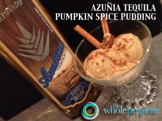 Azuna Pumpkin Spice Pudding