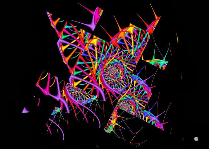 spiralée fragmentée