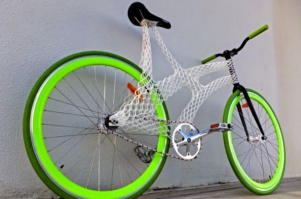 3D printed bike, cycling, bike