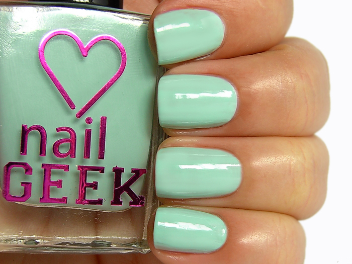 I Heart Makeup Nail Geek - Peppermint