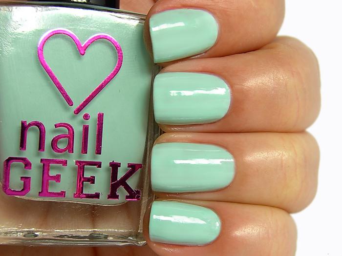 I Heart Makeup Nail Geek - Peppermint