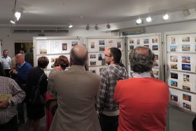 Inauguración EXFIAVILES 2015, exposición filatélica
