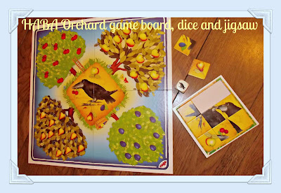 HABA, HABA Orchard game, age 3 years +, game, board game, colour recognition,