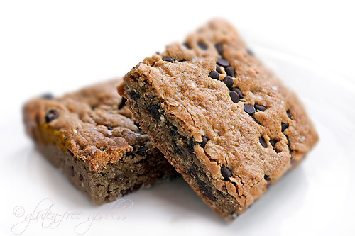 Karina's gluten-free quinoa breakfast bars
