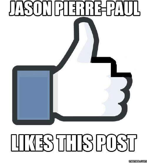 jason pierre-paul likes this post.- #JasonPierrePaul, #NewYorkGiants, #Giants, #facebooklike, #facebook, #like, #likesthis, #likesthispost,