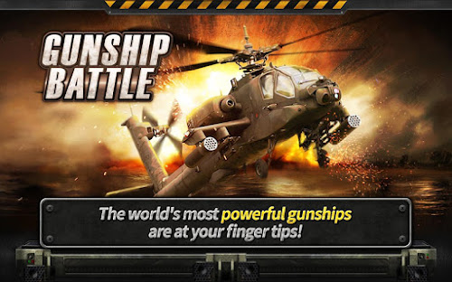 Gunship Battle Helicopter 3D 1.3.8 Apk Mod