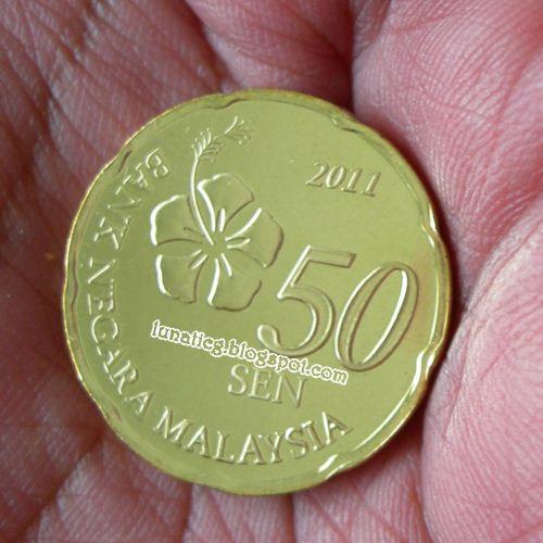 Anyone Received New Malaysia Coins Lunaticg Coin