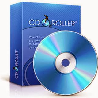 برنامج cdroller للاستعادة الملفات من الاسطوانات التالفة