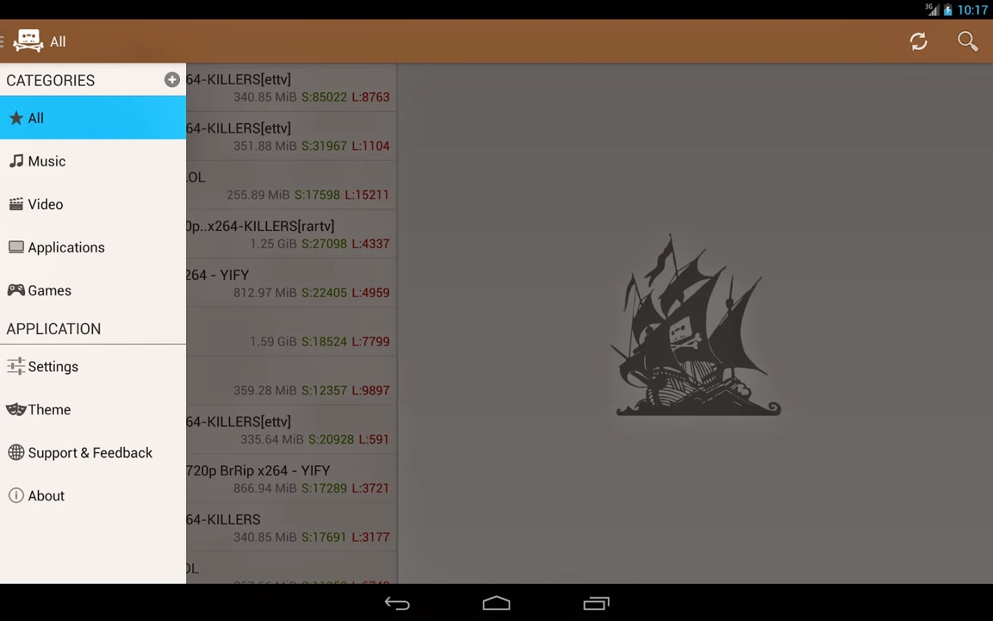 The Pirate Bay Browser Premium v6.1
