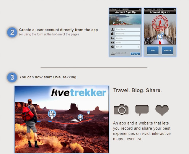 Live Trekker restores your trip