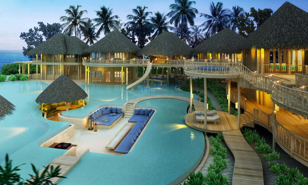 Tropical dreams tropical dreams most beautiful resorts for Amazing home pictures