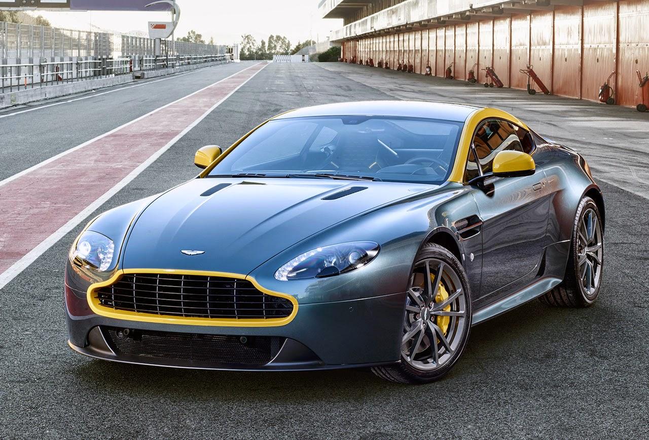 news super cars: aston martin v8 vantage n430