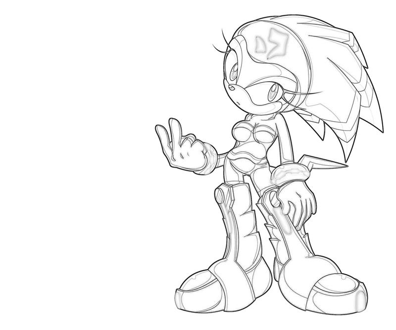 shade-the-echidna-character-coloring-pages