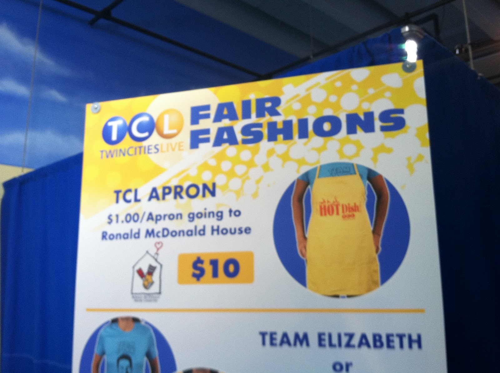 Blue apron advertising -  The Kstp Tv Broadcasts Of Twin Cities Live While You Are At The Minnesota State Fair You Can Support Rmhc Um By Purchasing A Twin Cities Live Apron At